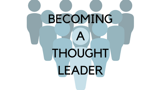 Edmonton business coach blog becoming a thought leader