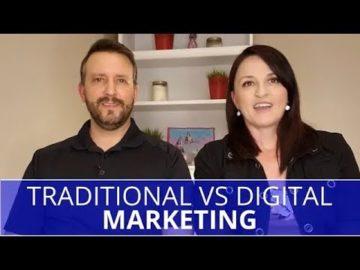 Edmonton Marketing | Traditional VS Digital Marketing