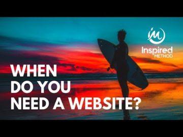 Edmonton Business Coach | When Do You Need a Website?