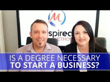 Edmonton Business Coach | Is a Degree Necessary to Start a Business?