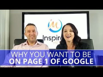 Edmonton Business Coach | Why You Want to Be On Page 1 of Google