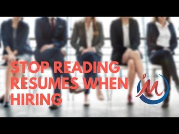 Edmonton Business Coach | Stop Reading Resumes When Hiring