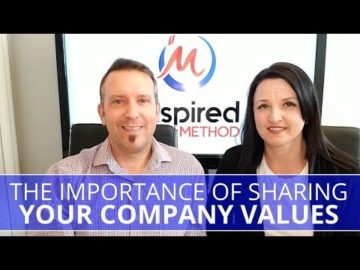Edmonton Business Coach | The Importance of Sharing Your Company Values
