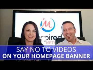 Edmonton Business Coach | Say No to Video Banners on Your Home Page