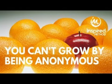 Edmonton Business Coach | You Can't Grow by Being Anonymous