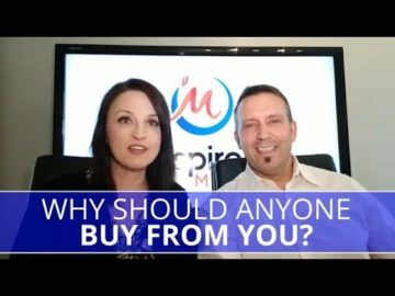 Edmonton Business Coach | Why Should Anyone Buy From You?