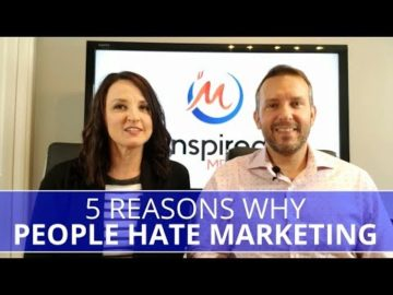 Edmonton Business Coach | 5 Reasons Why People Hate Marketing