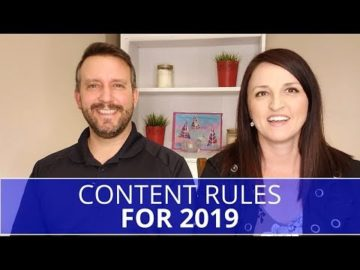 Edmonton Marketing | Content Rules for 2019