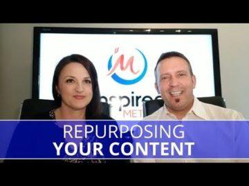 Edmonton Business Coach   Re-Purposing Content